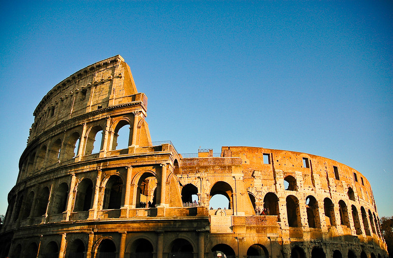 The Coliseum by Day<br /> Rome, Lazio Region