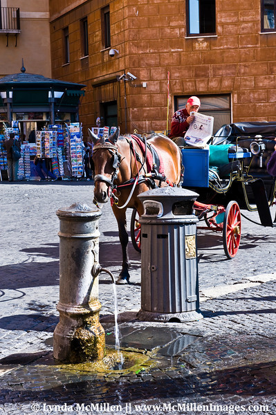 No water shortages in Italy!