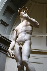 Michelangelo's David, Galleria dell'Accademia, Florence, Italy