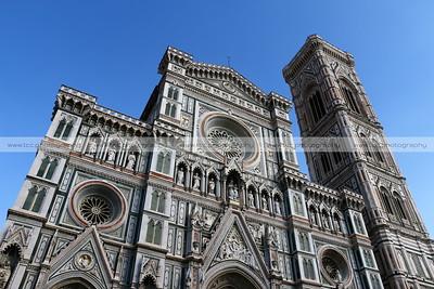 Cattedrale di Santa Maria del Fiore and Giotto's Campanile, Piazza del Duomo, Florence, Italy