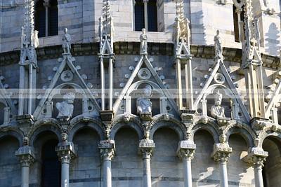 Battistero di San Giovanni (Pisa Batistery), Piazza dei Miracoli (Square of Miracles), Pisa, Italy
