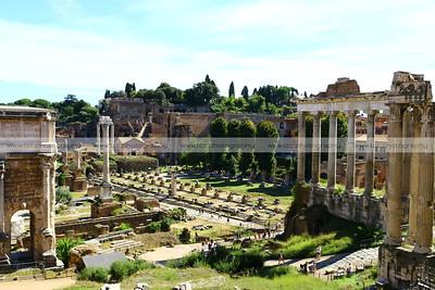 Forum Romanum (Roman Forum), Rome, Italy