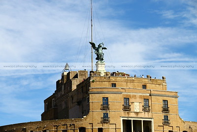 Castel Sant Angelo (Castle of the Holy Angel), Rome, Italy