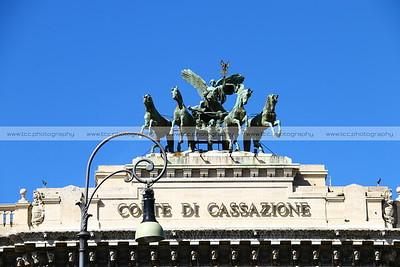 Palazzo di Giustizia (Palace of Justice), Rome, Italy
