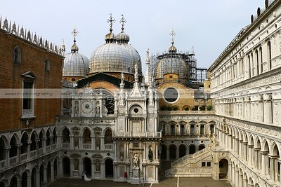Palazzo Ducale (Doge's Palace) and Basilica di San Marco, Venice, Italy