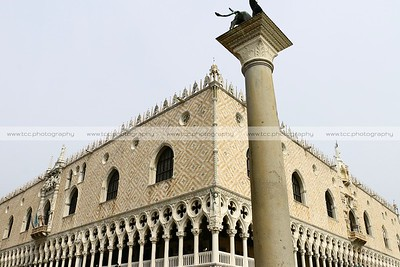 Palazzo Ducale (Doge's Palace), Piazza San Marco, Venice, Italy