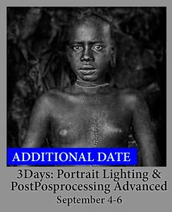 09-04-19 3Days Lighting Portraiture Advanced