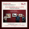Artists Reception: July 6 (4-6PM)