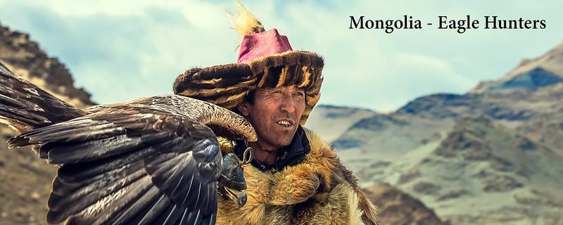 Mongolia Eagle Hunters