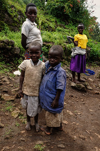 Batwa Children near Kisoro
