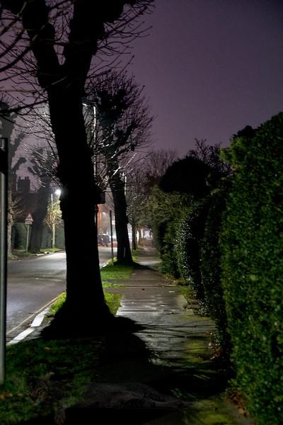 Mostyn Road at Night