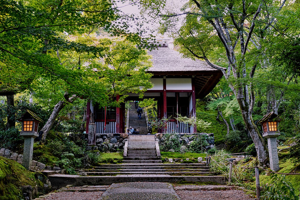 Nio-mon Gate - Jōjakkō-ji Temple - Kyoto