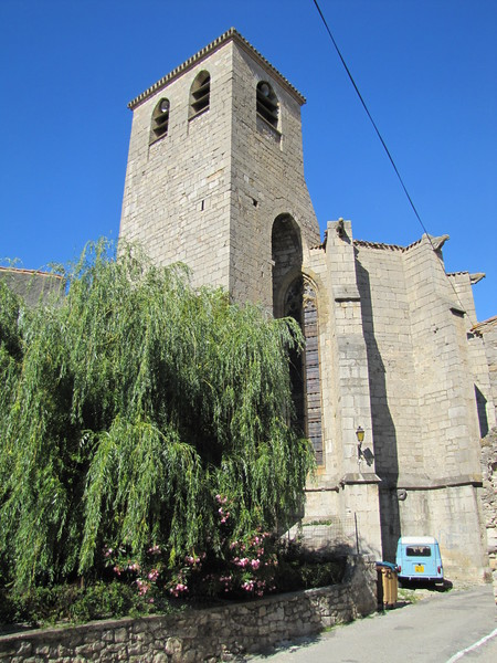 Lagrasse - Church Tower