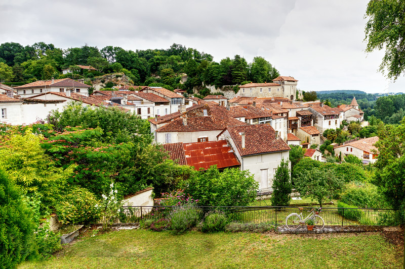 Aubeterre Sur Dronne - Panorama