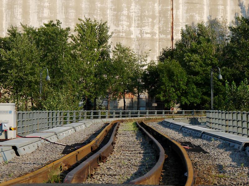 Montreal - Old Port - Rail Tracks