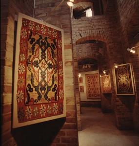 Exhibition, Swedish Textile Art – the Khalili Collection (Textila Konstskatter från Skåne), Pildammarnas Water tower, Malmö, Sweden in February-March 1996.