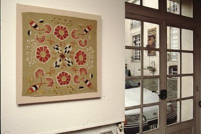 Exhibition, Swedish Textile Art – the Khalili Collection (La Collection Khalili et ses Textiles de la Scanie), Centre Cultural Suédois Paris, France, in March-May 2000.