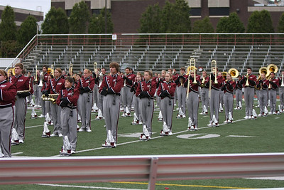 IUP Marching Band 2009-09-12