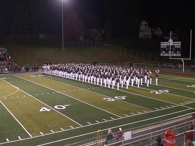 IUP Marching Band 2010-10-16