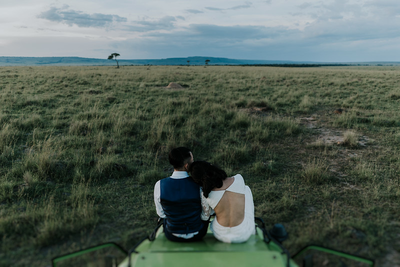 Elopement Wedding in Lake Kariba
