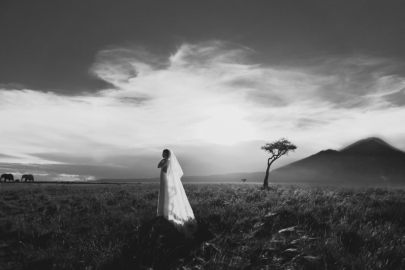 Elopement Wedding in  Nyiragongo Volcano