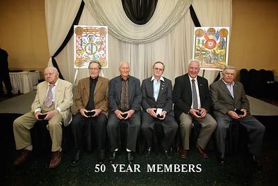 Pin Ceremony 50 Years