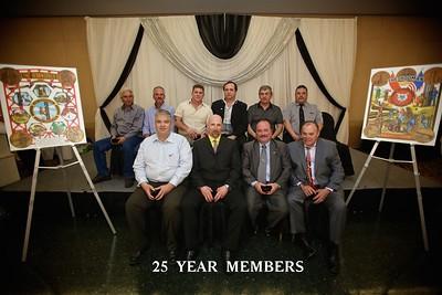 Pin Ceremony 25 Years