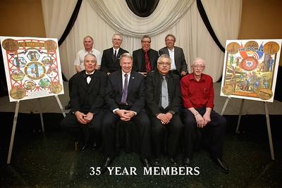 Pin Ceremony 35 Years