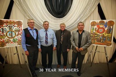 Pin Ceremony 30 Years