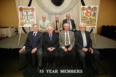 Pin Ceremony 55 Years