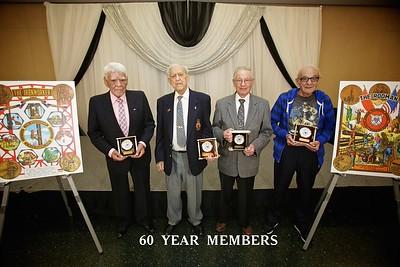 Pin Ceremony 60 Years