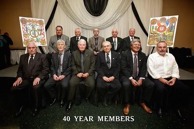 Pin Ceremony 40 Years