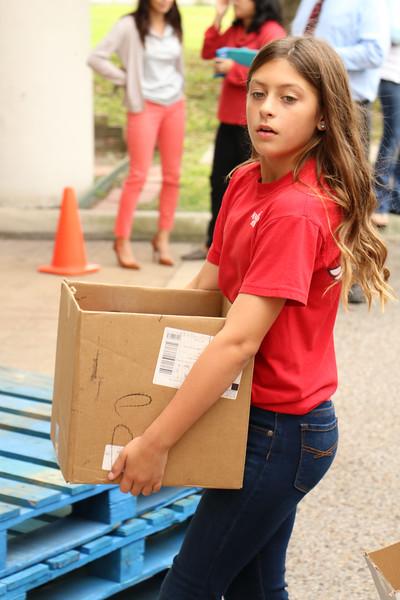 IWA fifth grader Madison Bell