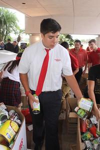 IWA eighth grader Jonah Sandoval