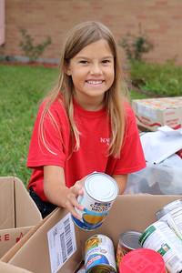 IWA fourth grader Katelyn Blaine