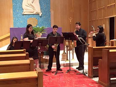 Sabrina De Santiago, Sarah Garcia, Esteban Moreida, Andrew Garcia and Alexa Mendoza