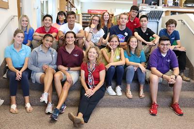 French Exchange Students Visit IWA