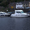 (L to R) Firefly and Polecat. One of the organisational headaches of planning a CIC through Ardnacrusha involves the scheduling of the various boats. Several factors need to be taken into consideration not least being length of individual boats.  Our fleet of nine boats would involve a schedule of four lock times at Ardnaccrusha which had been reduced from five when a single boat withdrew from the CIC at relatively short notice.  A re-assignng of boats to specific lock times enabled the reductioin from five to four locks!