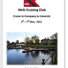 Front Cover of Programme of Events for the Cruising Club CIC to Limerick, May 2012