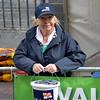 Breda Ryan Cruising Club member on RNLI fund-raising duty at Limerick Riverfest 2013.