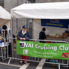 IWAI Cruising Club team setting up for the start of the BBQ Competition at Limerick Riverfest 2013. The club used the occasion to fund-raise for the RNLI. RNLI flag/banner was initially placed at the back of the Cruising Club stand but was later re-positioned on the railing to left of Cruising Club banner.