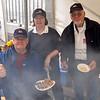 Cruising Club BBQ Team...Tony Barry, Mary Healy, Archie Reed