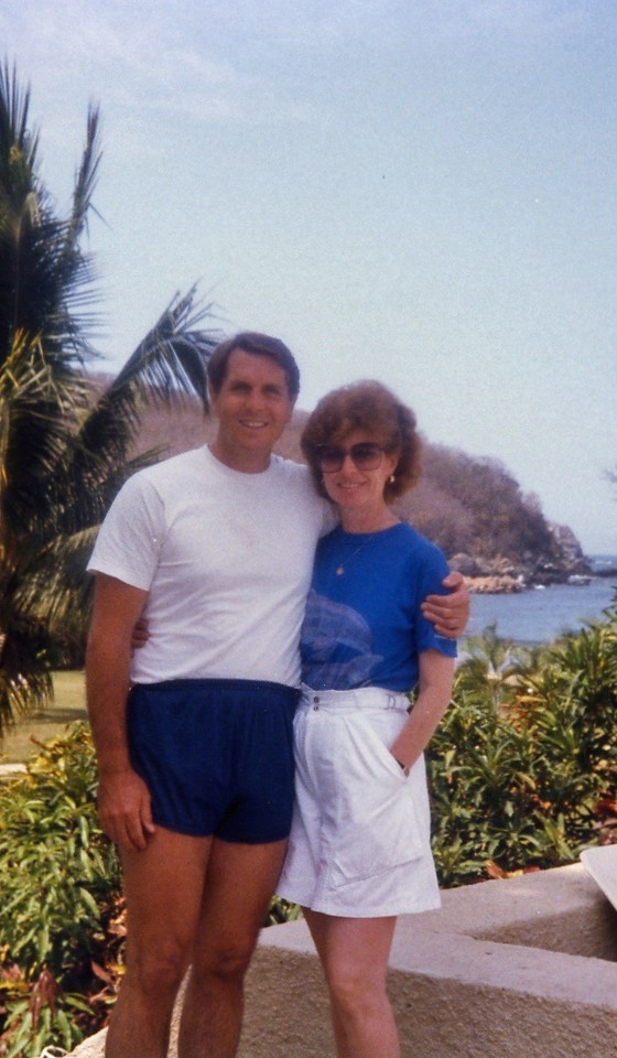 Tom and Betty Easter Week, Club Med, Ixtopa, Mexico, 1985 - Version 2