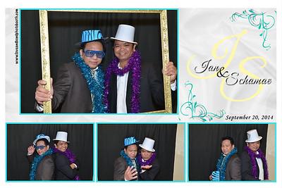 Ian & Schamae Wedding