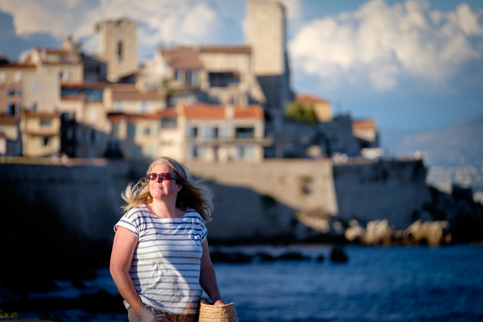Michelle in Antibes