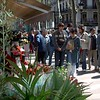 There are lots of of Boquerias like this on La Rambla that sell boquets.