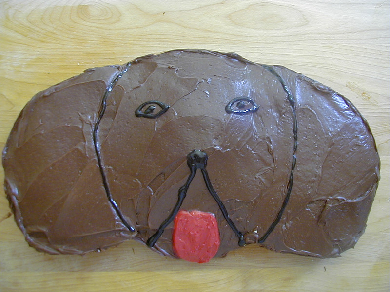 BirthdayDogCake