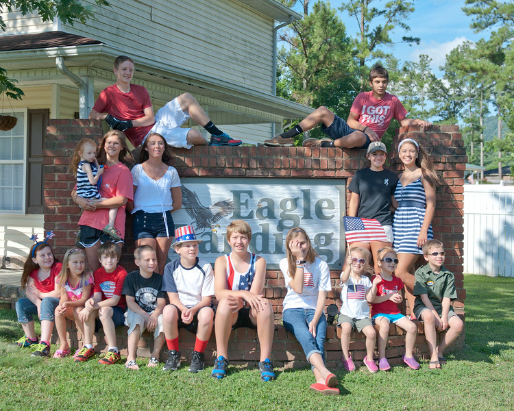 4th of July in Eagle Landing