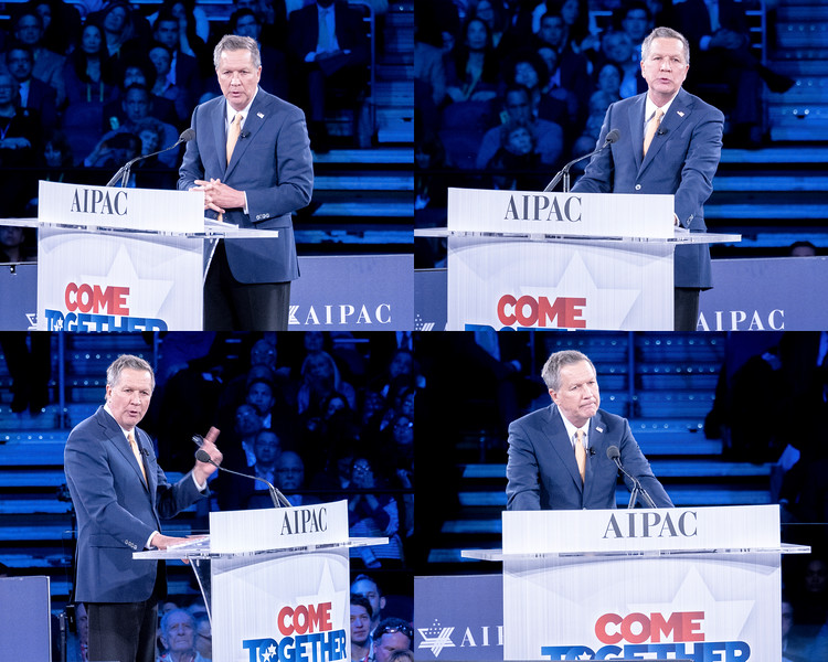 Kasich at AIPAC