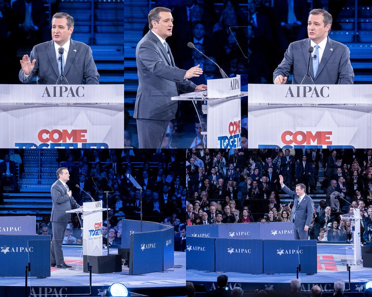 Cruz at AIPAC